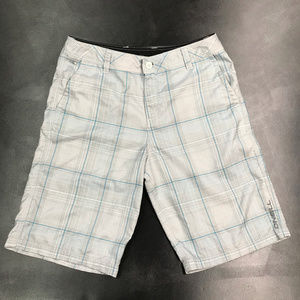 O'Neill Men's Hybrid Plaid Casual Shorts